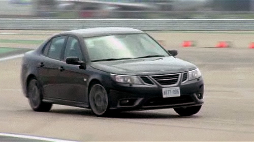 2008 Saab 9-3 Turbo X  First Impressions Video