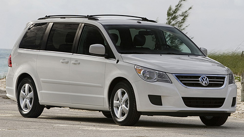 Volkswagen Routan 2009 : premi�res impressions Video