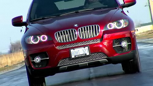 BMW X6 xDrive50i 2009 : essai routier Video