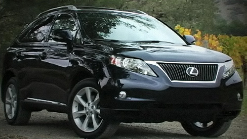 Lexus RX 2010 : premi�res impressions Video