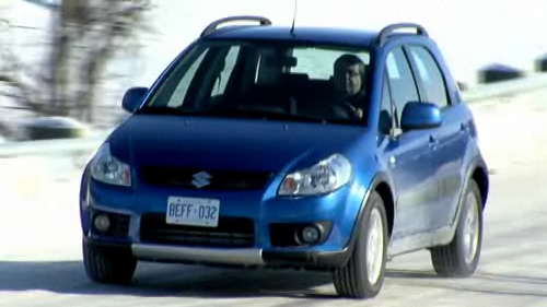 Suzuki SX4 DDIS 2008 : essai routier Video