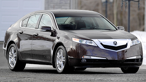 Acura TL 2009 : essai routier Video
