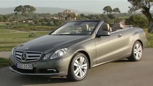 Mercedes-Benz Classe E Cabriolet 2011: premi�res impressions Video