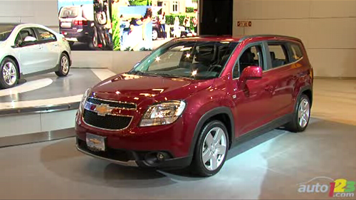 Montr�al 2011: Le Chevrolet Orlando fait une bonne premi�re impression Video