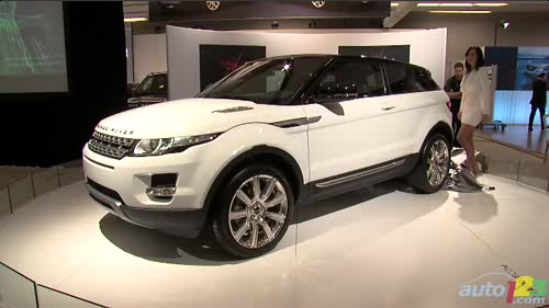 Montr�al 2011: Premi�re canadienne du Range Rover Evoque coup� Video