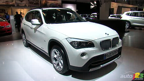 Montr�al 2011 : Premi�re nord-am�ricaine du BMW X1 Video