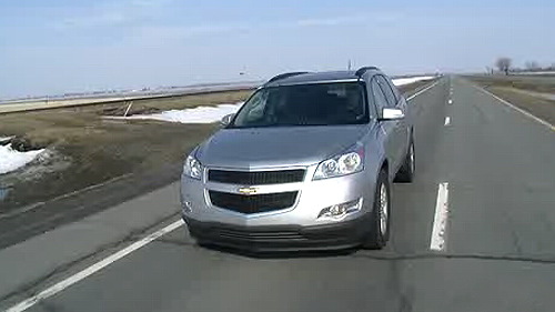 Chevrolet Traverse 2LT 2011 : essai routier Video