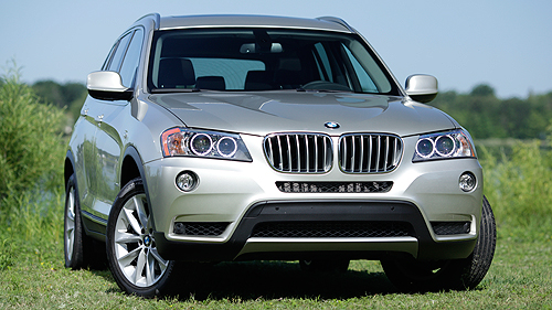 BMW X3 xDrive35i 2011 : essai routier Video
