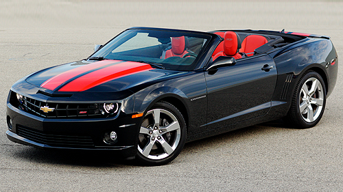 Chevrolet Camaro Cabriolet 2SS 2011 : essai routier Video
