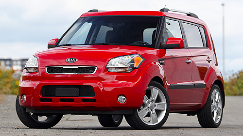 Kia Soul 4u Luxe 2011 : essai routier Video