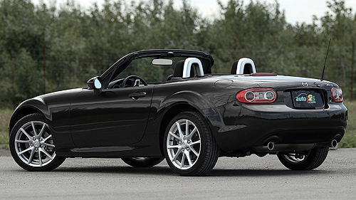 Mazda MX-5 GS 2011 : essai routier Video