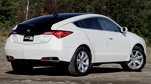 Acura ZDX SH-AWD TECH 2011 : essai routier Video