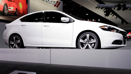 VID�O : La Dodge Dart 2013 au Salon de D�troit Video