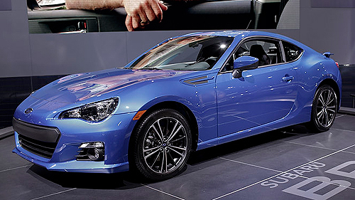 La Subaru BRZ 2013 au Salon de D�troit Video