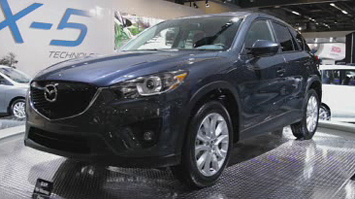 VID�O : Mazda CX-5 2013 � Montr�al Video