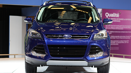 Ford Escape 2013 au Salon de l'Auto de Montr�al Video