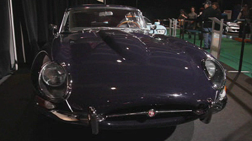 Jaguar Type E 1964 au Salon de Montr�al Video