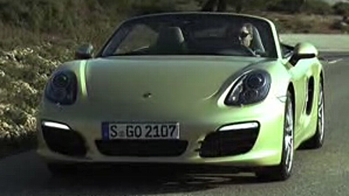 Porsche Boxster 2013 : aper�u Video