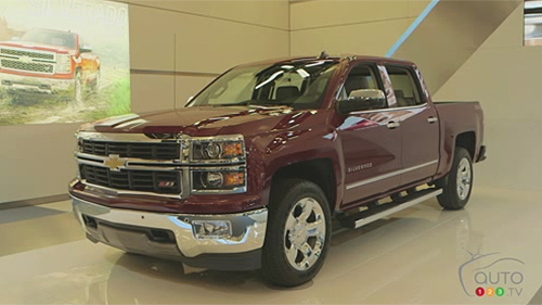 GM pr�sente la Chevrolet Silverado 2014 � Montr�al Video