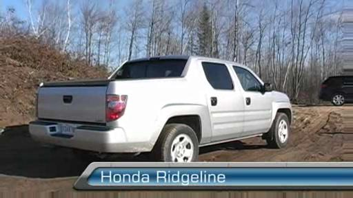 Honda Ridgeline LX 2006 (Extrait vid�o) Video