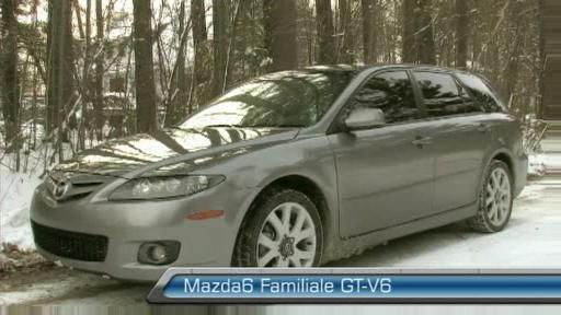 Mazda 6 familiale Sport 2006 (Extrait vid�o) Video