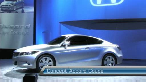 Honda d�voile l'attrayante Accord Coupe Concept (VID�O) Video
