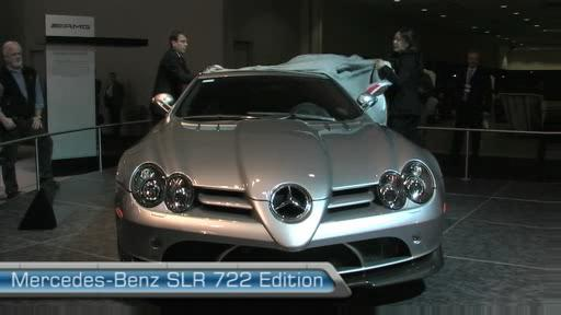Premi�re nord-am�ricaine de la Mercedes-Benz SLR �dition 722 au Salon de l'auto de Toronto (VID�O) Video