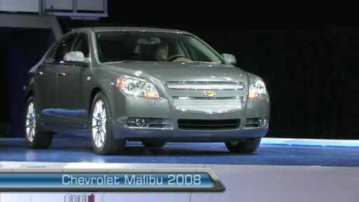 Chevrolet Malibu 2008 au Salon de l'auto de Toronto (VID�O) Video