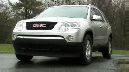 GMC Acadia 2007 : Essai (VID�O) Video