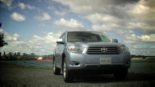 Toyota Highlander 4RM V6 2008 : essai (vid�o) Video