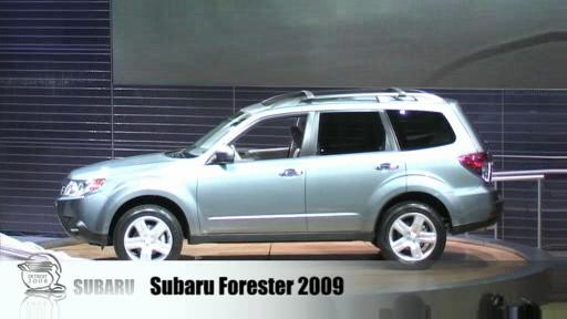 Detroit 2008: Subaru pr�sente son nouveau Forester (vid�o) Video