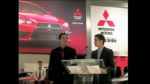 Salon de Montr�al : Mitsubishi (vid�o) Video