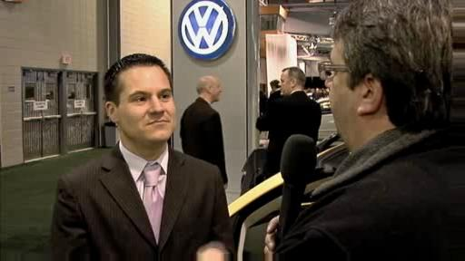 Salon de l'auto de Qu�bec 2008 : Une ann�e charni�re pour VW (vid�o) Video