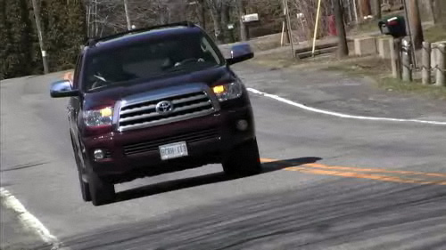 Toyota Sequoia Limited 2008 : essai routier Video