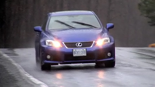 Lexus IS F 2008 : premi�res impressions Video
