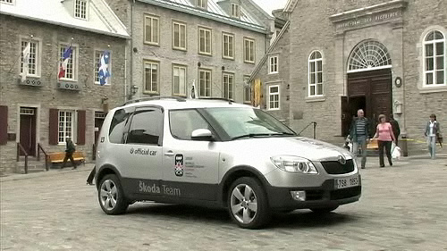 Skoda Roomster Scout 2008 : essai routier Video