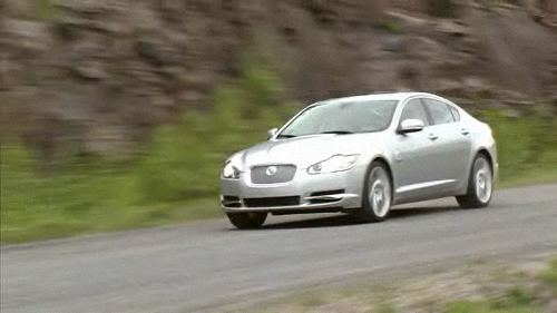 Jaguar XF suraliment�e 2009 : essai routier Video