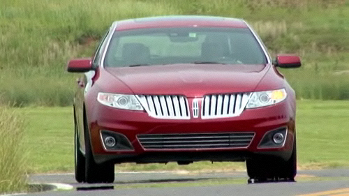 Lincoln MKS 2009 : premi�res impressions Video