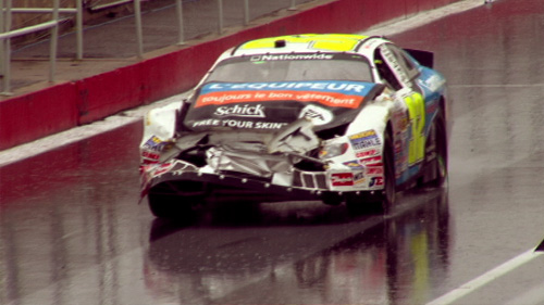 NASCAR Nationwide: Fellows effectue la danse de la pluie Video