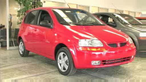 2007 Pontiac Wave 5-door