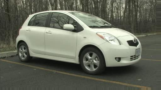 2007 Toyota Yaris Hatchback Review