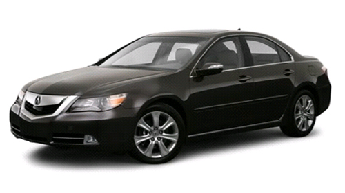2009 Acura RL Video Specs