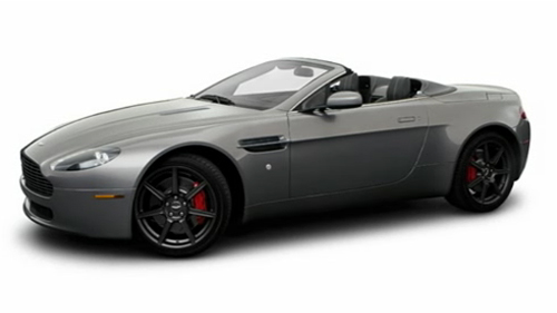 Sp�cification Vid�o : Aston Martin V8 Vantage 2009 Video