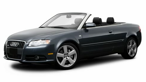 Sp�cification Vid�o: Audi A4 Cabriolet 2009 Video