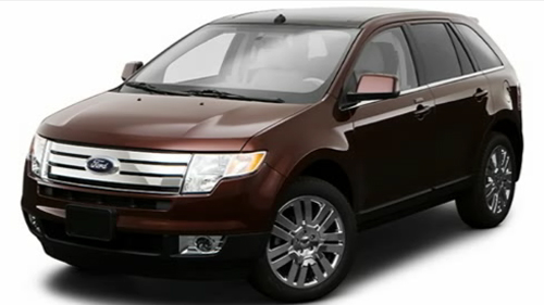 Sp�cification Vid�o : Ford Edge 2009 Video