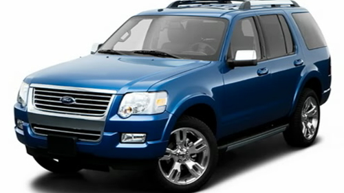 Sp�cification Vid�o : Ford Explorer 2009 Video