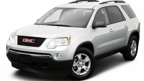 Sp�cification Vid�o: GMC Acadia 2009 Video