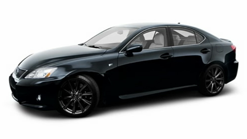 2009 Lexus IS F Video Specs