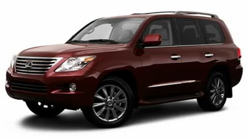 2009 Lexus LX Video Specs