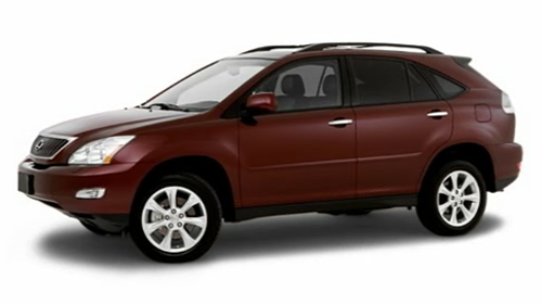 2009 Lexus RX 350 Video Specs